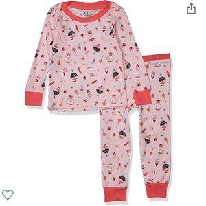 NWT FAO Schwarz Girls' Pajama Set Size 2T
